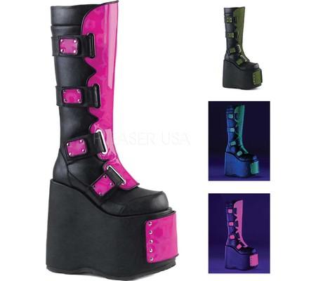 Women's Demonia Slay 310 Knee High Boot