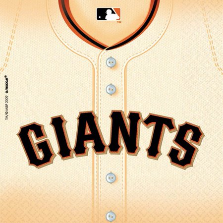 Sf Giants Luncheon Napkins (36 Pack) - Party Supplies](Persian Halloween Party San Francisco)