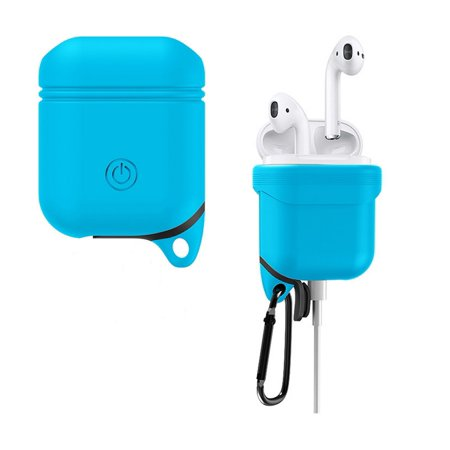 huge selection of 06383 06cb9 Airpods Case - Shock Drop Proof air pods Protective Cover Waterproof Soft  Skin, Anti-lost carabinier, Silicone sealing, Hassle free charging - apple  ...