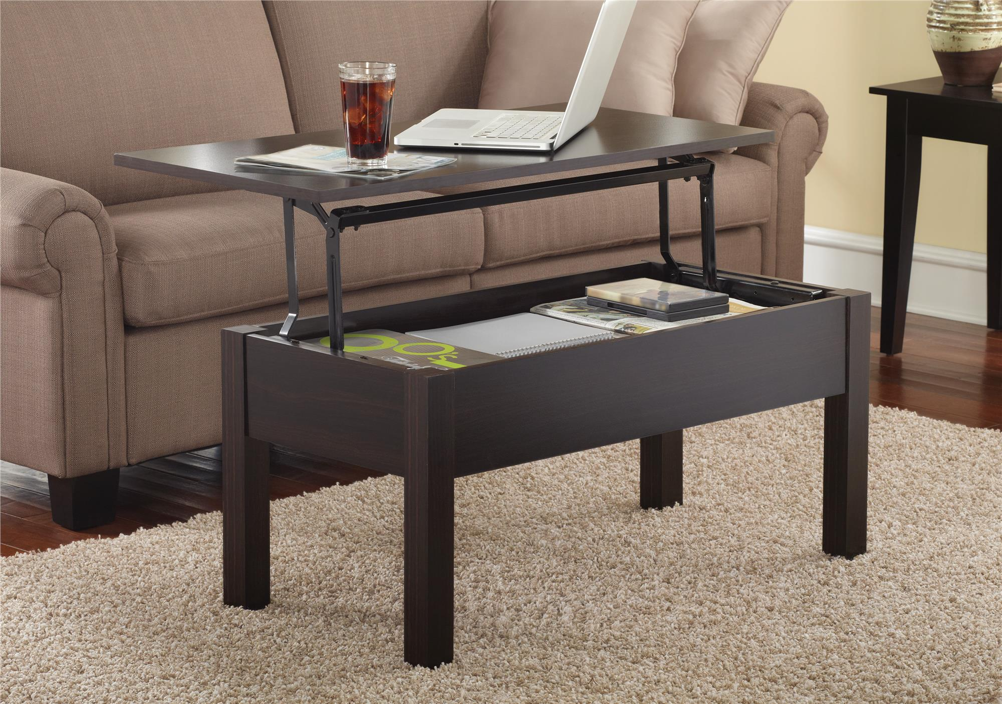 Mainstays Lift Top Coffee Table, Multiple Colors