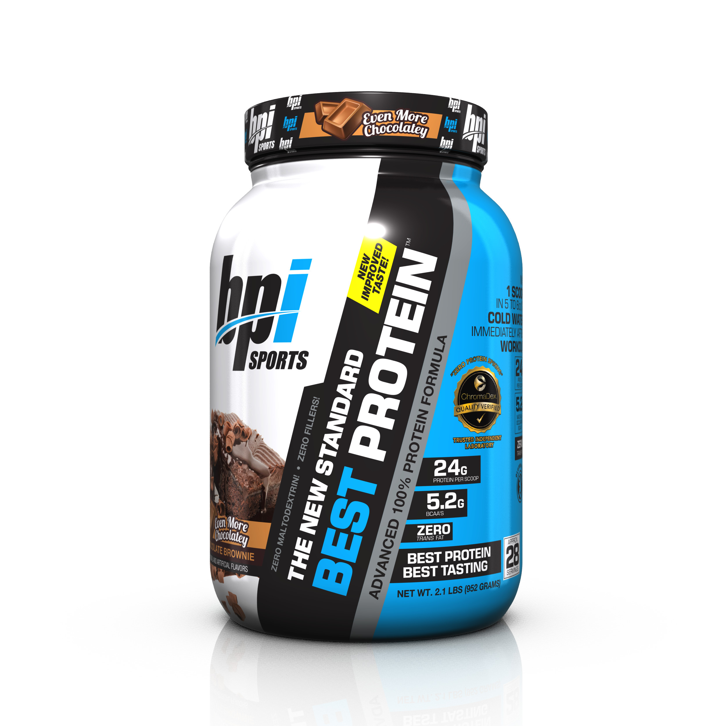 BPI Sports Best Protein Protein Chocolate Brownie, 28 Servings