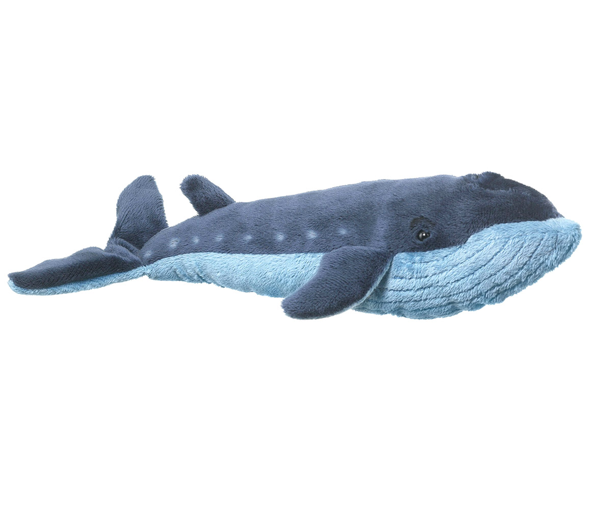 Super Soft Plush Wild Life Artist Conservation Critters Blue Whale Plush (Multipack of 6) by Wildlife Artists