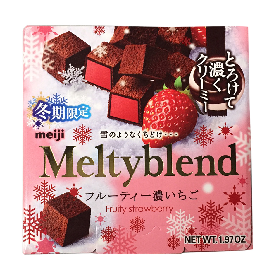 Meltyblend Chocolate with Cocoa Powder (Strawberry, 1 Pack)