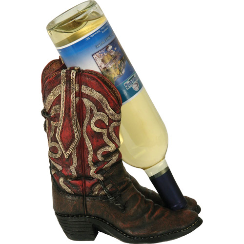 Rivers Edge Products Cowboy Boot Wine Bottle Holder