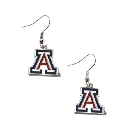 NCAA Arizona Wildcats Dangle Logo Earring Set Charm Gift - image 1 de 1