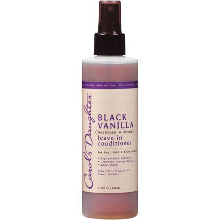 Carol's Daughter Black Vanilla Leave In Conditioner For Dry, Dull or Brittle Hair, 8 fl