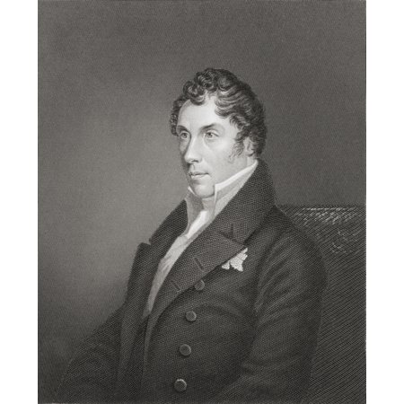 George John James Hamilton-Gordon 5Th Earl Of Aberdeen 1816 To 1864 British Peer And Liberal Party Politician From The Age We Live In A History Of The Nineteenth Century Stretched Canvas - Ken