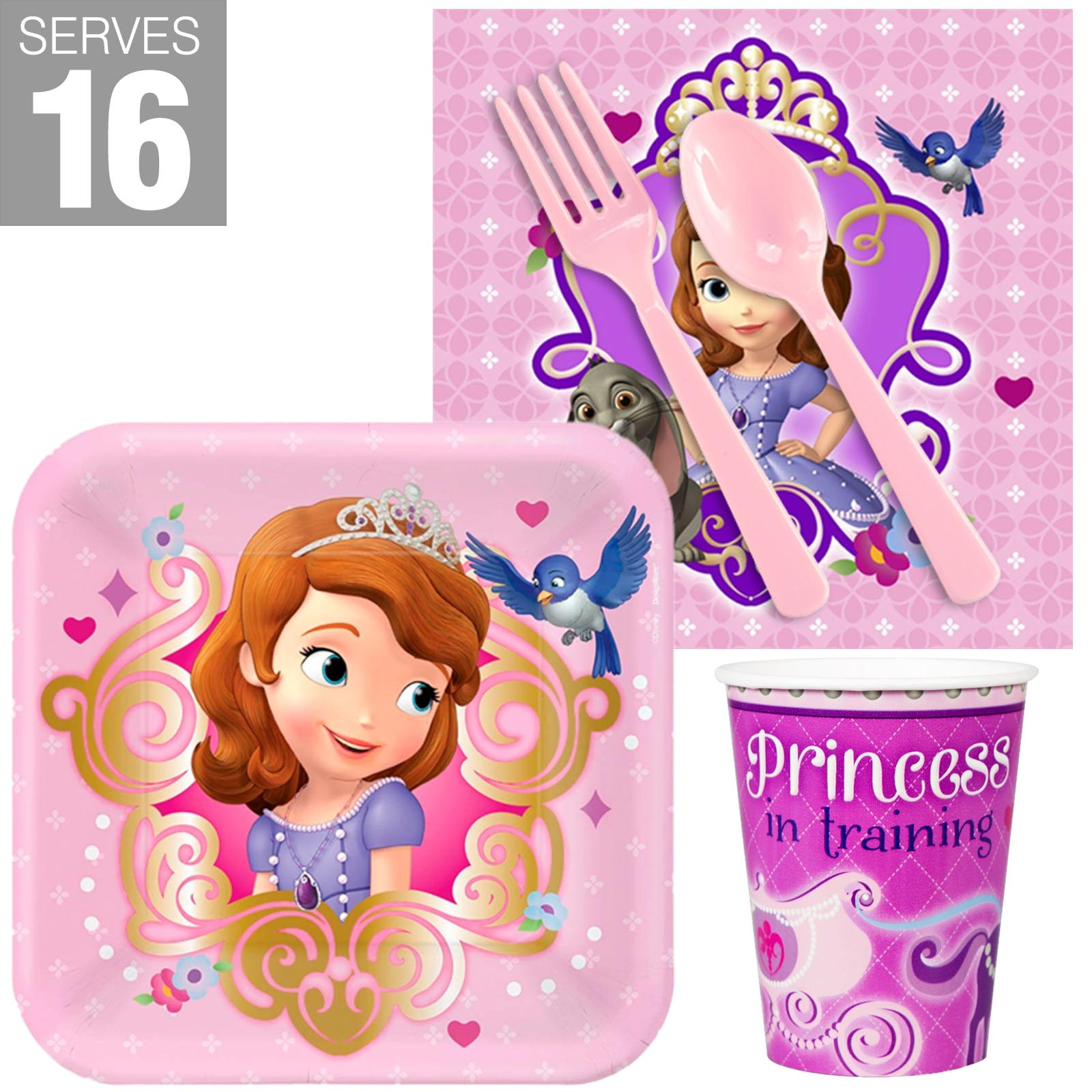 Sofia the First Snack Pack For 16