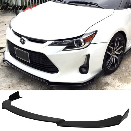 Fits 14-16 Scion TC Coupe V1 Style Front Bumper Lip Splitter Urethane PU