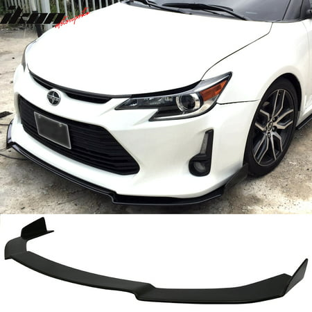 - Fits 14-16 Scion TC Coupe V1 Style Front Bumper Lip Splitter Urethane PU