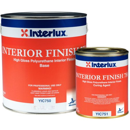 Interlux Boat Bottom Paint (Interlux Interior Finish 750 Topside Paint 9003 White Base Gal YIC750G )