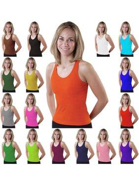 cac687adfa Product Image Pizzazz Girls Racer Back Cheer Dance Tank Top Shirt 2T-16