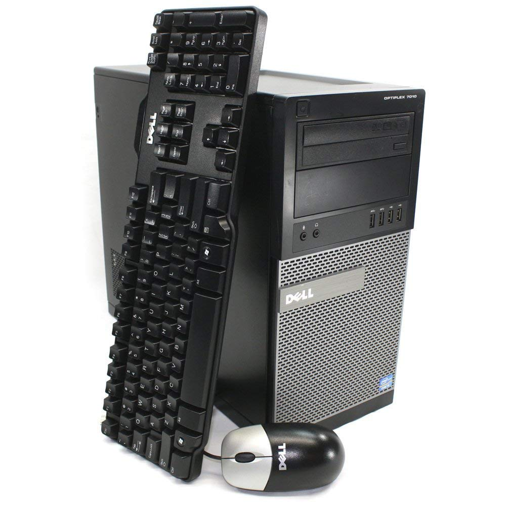 Dell Optiplex 7010 Tower Business Desktop Computer PC - Intel Core i5 3rd Gen i5-3470, 4 GB DDR3 RAM, 320 GB HDD, Windows 10 Pro