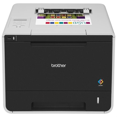 Brother Laser Printer - Color - 2400 x 600 dpi Print - Plain Paper Print - Desktop HL-L8250CDN