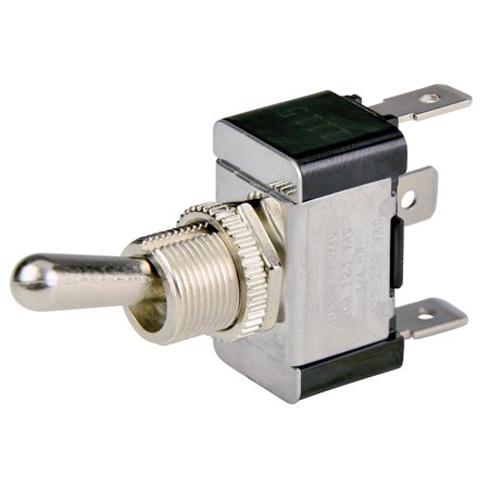 Bep Marine 1002001 Bep Spdt Chrome Plated Toggle Switch - On/off/on (Bep Marine)