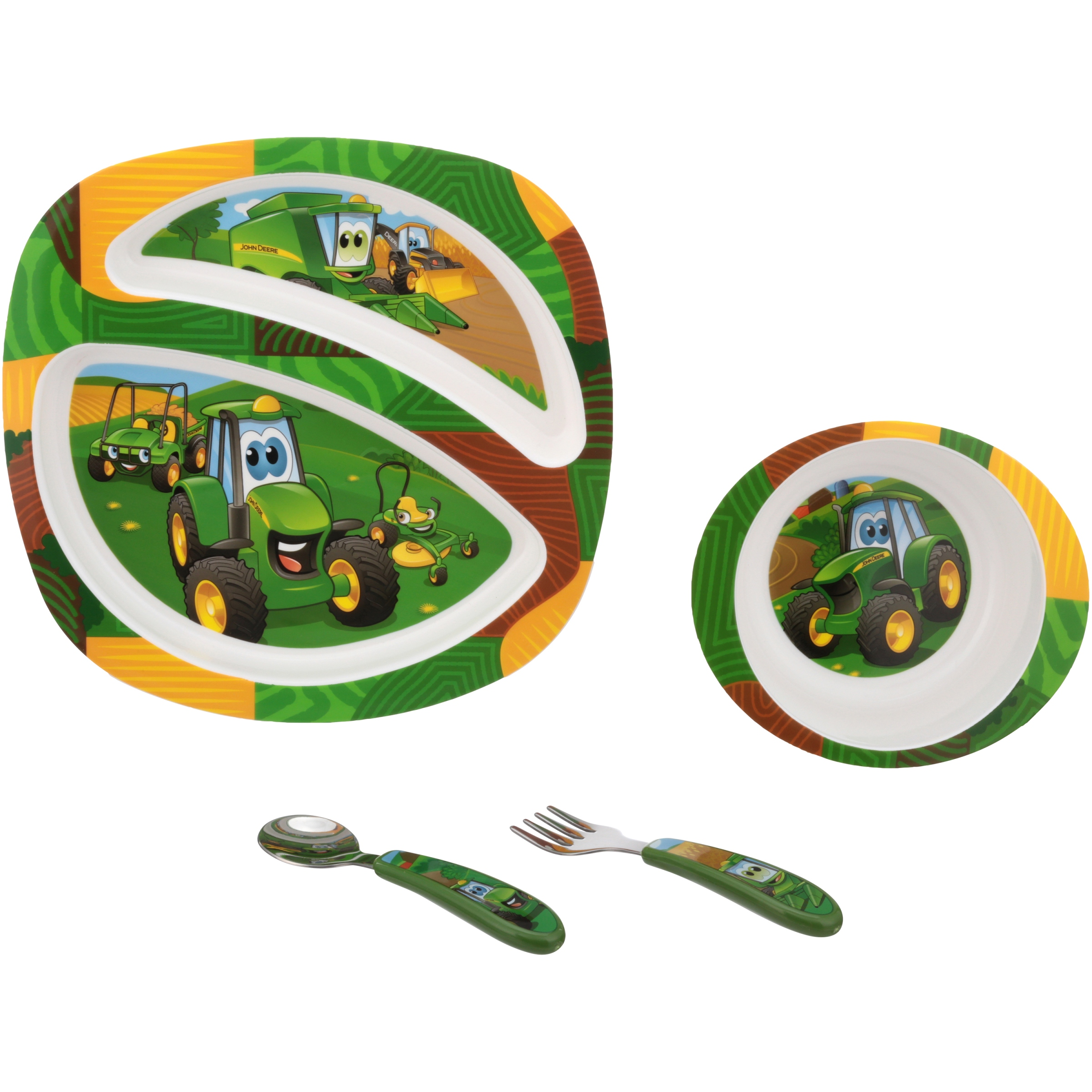 The First Years® John Deere Feeding Set 3 pc. Carded Pack - Walmart.com