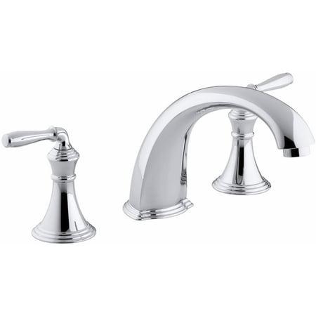 KH-K-T398-4-CP Devonshire ® deck-/rim-mount bath faucet trim for high-flow valve Polished Chrome