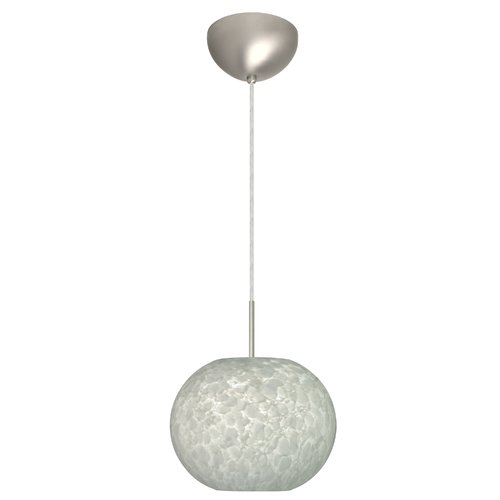 Besa - 1JC-477619-LED-SN - One Light Pendant - Luna - Satin Nickel