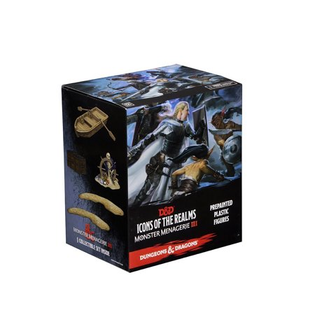 Wizkids D &D Icons of the Realms Minis Monster Menagerie 3 Pack - Booster