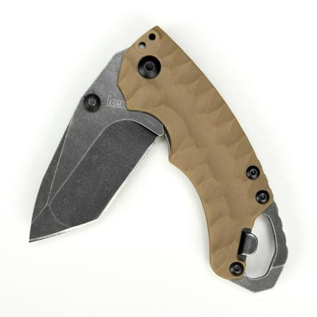 UPC 087171039343 - Kershaw 8750TTANBW Shuffle II Folding Knife with Tanto  Blade and BlackWash Finis | upcitemdb.com