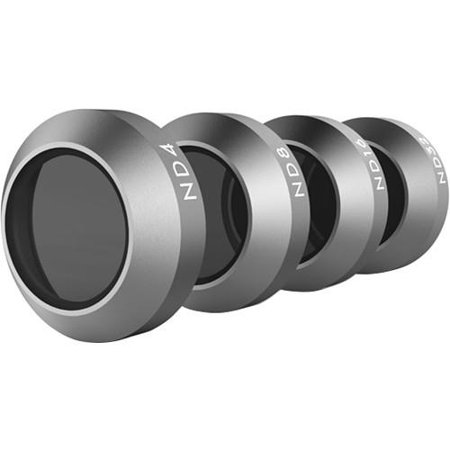 DJI Part47 Mavic Pro Filter Set, Includes ND4 Filter, ND8 Filter, ND16 Filter, ND32