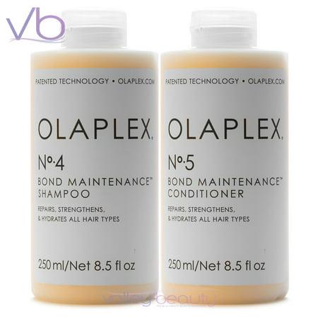 Olaplex No.4, No.5 Set | Hair Shampoo & Conditioner, 8.5 Fl