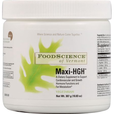 FoodScience of Vermont Maxi-HGH, 10.83 Oz