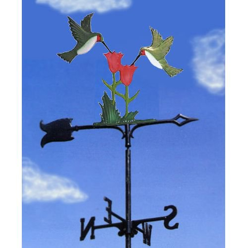 Painted Hummingbirds Garden Weathervane by Whitehall Products LLC