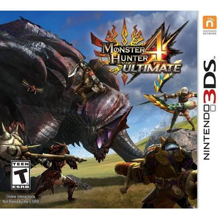 Monster Hunter 4 Ultimate, Capcom, Nintendo 3DS,