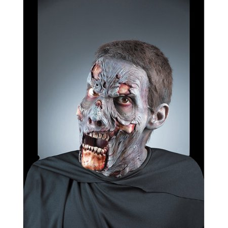 Zombie Foam Appliance Adult Halloween Prosthetic Accessory