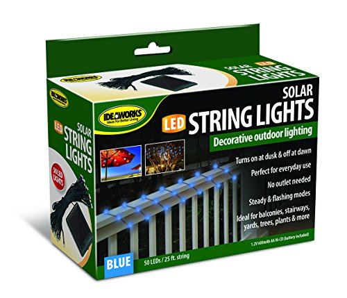 Ideaworks Outdoor Solar String Led Lights