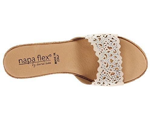 David Tate Womens Romantica Open Toe Casual Slide Sandals