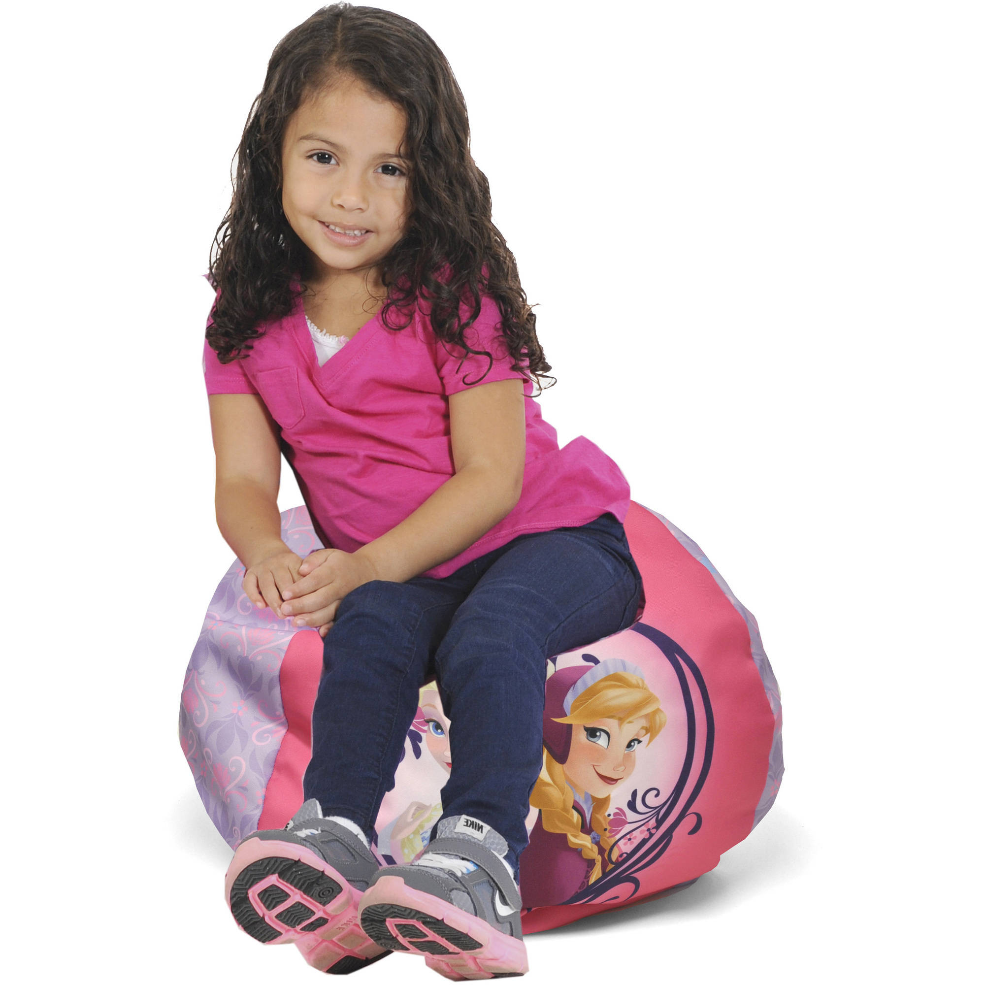 Disney Frozen Movie Round Bean Bag Chair