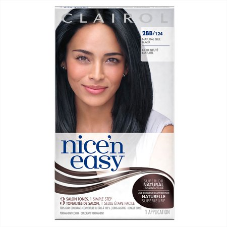 Clairol Nice N Easy Hair Color Natural Blue Black