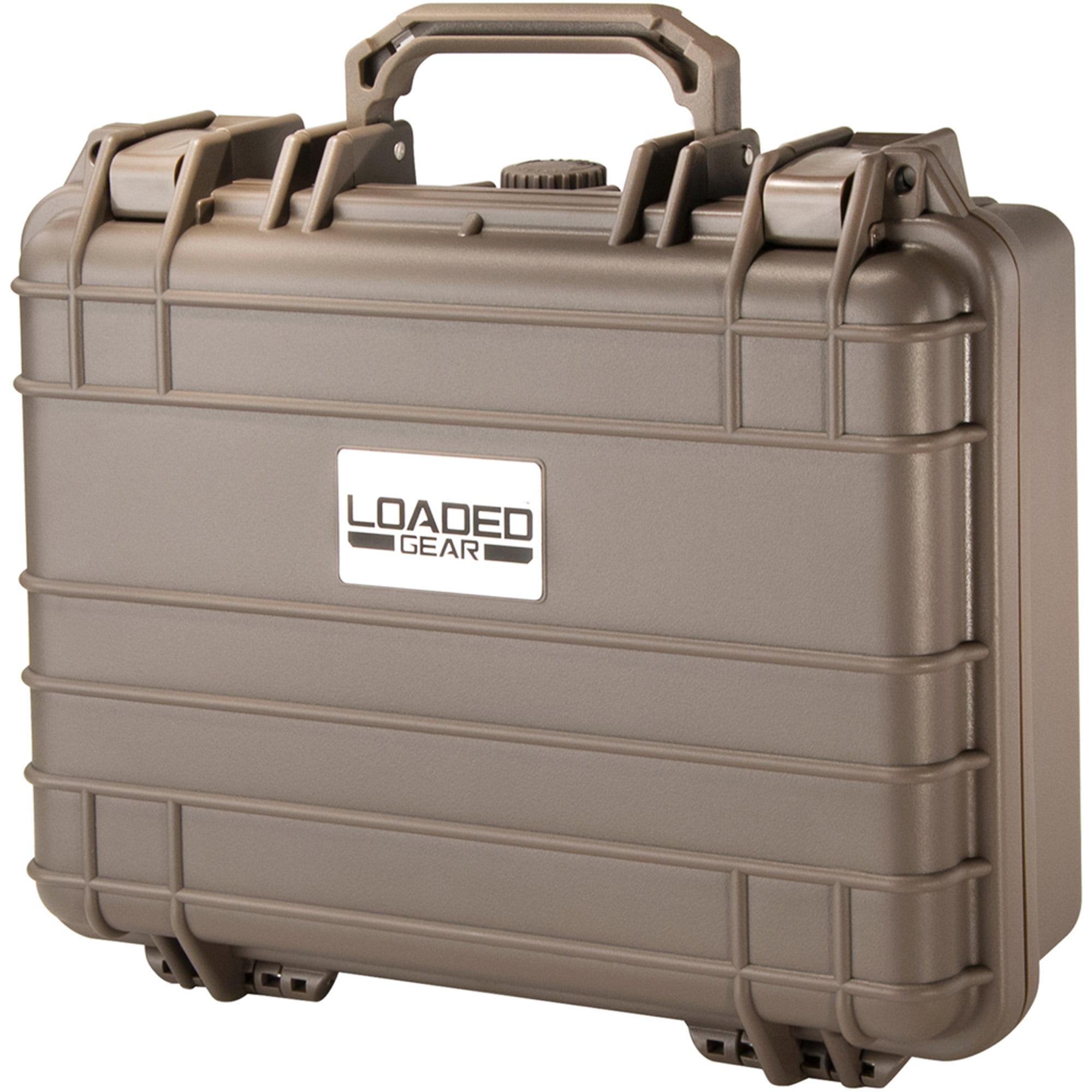 Barska Optics Loaded Gear Hard Case, HD 200, Dark Earth