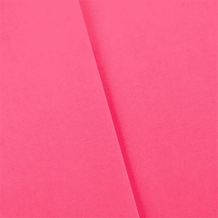 Hot Pink Stretch Sateen, Fabric By the Yard (Printed Stretch Sateen)
