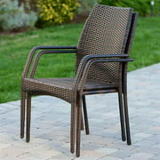 Outdoor Chair with Arm - Set of 2