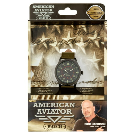 American Aviator Collectible Watch Limited Edition   As Seen On Tv