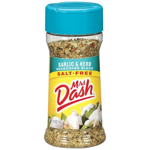 Mrs. Dash Garlic & Herb Salt-Free Seasoning Blend, 2.5 oz