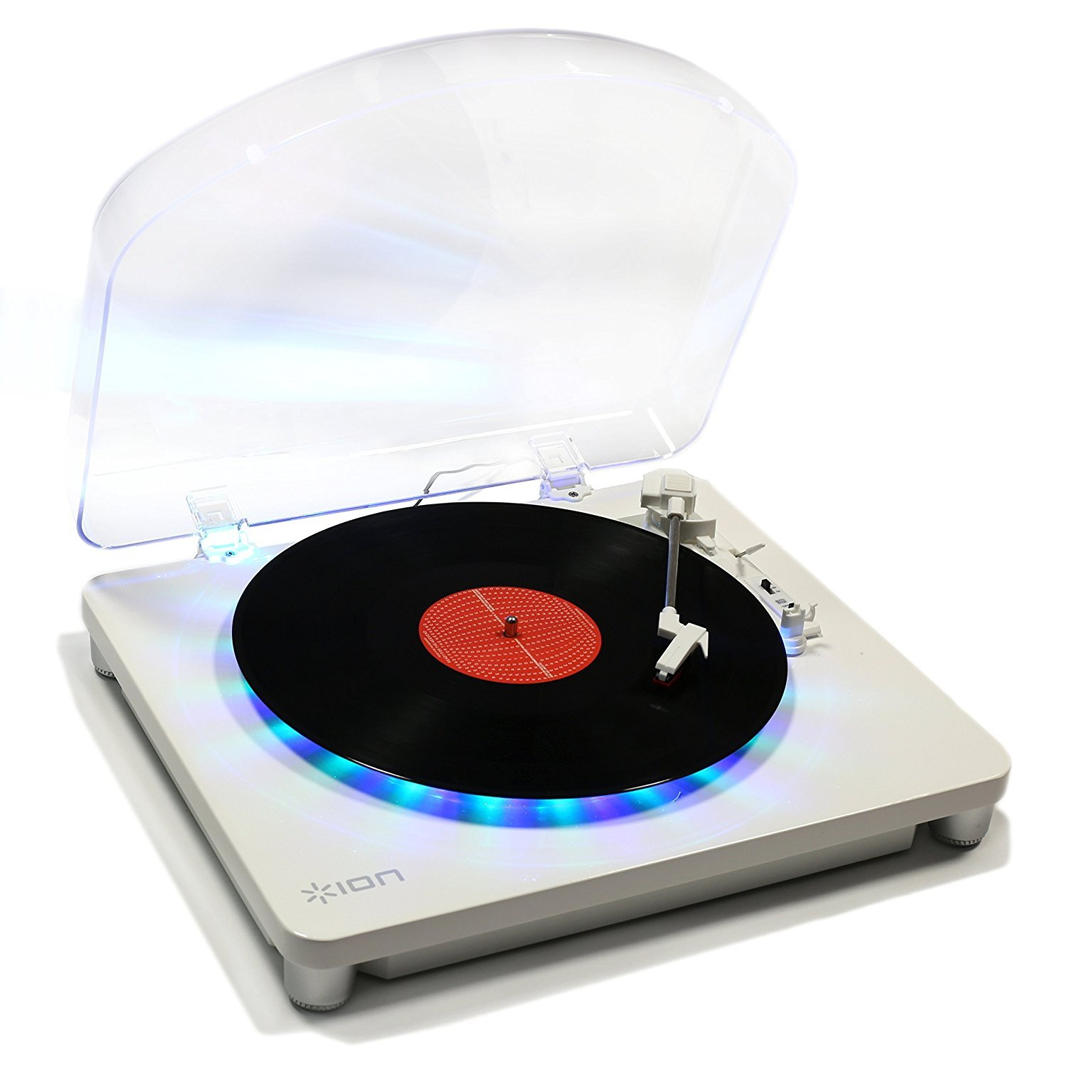 Record Player For Kids, Ion Audio Photon Modern Vinyl Small Portable Turntable