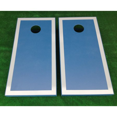 ! Bordered Tournament Cornhole Set