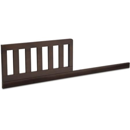 Delta Children Daybed/Toddler Guardrail Kit W103725, Walnut Espresso (Bed Rail For Daybed)