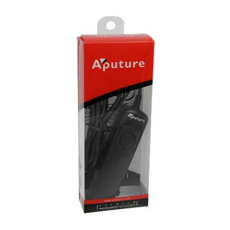 Aputure Shutter Release Cable - 1S Camera Remote for Sony Alpha A-Mount Cameras (Replaces Sony