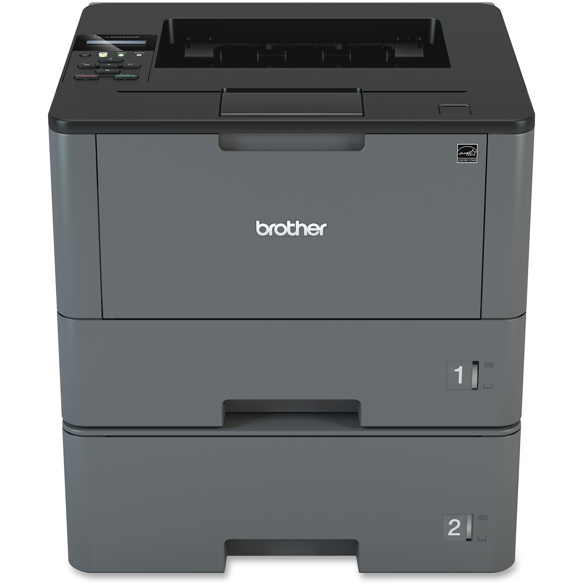 Brother HL-L5200DWT Business Laser Printer with Wireless Networking, Duplex Printing