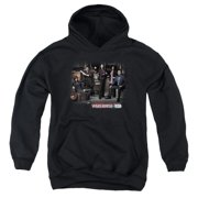 Warehouse 13 Warehouse Cast Big Boys Pullover Hoodie