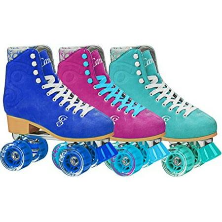 Halloween Roller Derby Girl (Roller Derby Elite Candi Women's Carlin Roller Skate, Sea Foam, Size)