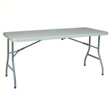 Scranton   Co 61  Multi Purpose Center Fold Table In White