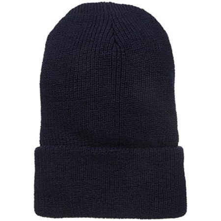 Wigwam Men's 1015 Wool Ribbed Watch Cap, Navy, One Size Mens Wool Caps