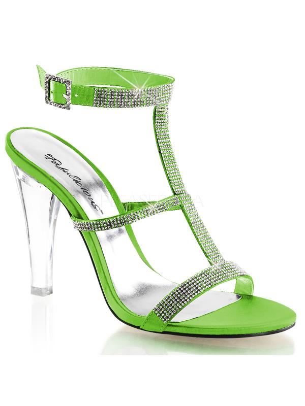 cle418 cle418 cle418 / apgnsa fabulicieux chaussures 4 1 / 2 et vert pomme # 34; claireHommes t satin taille: 8 4b78e0