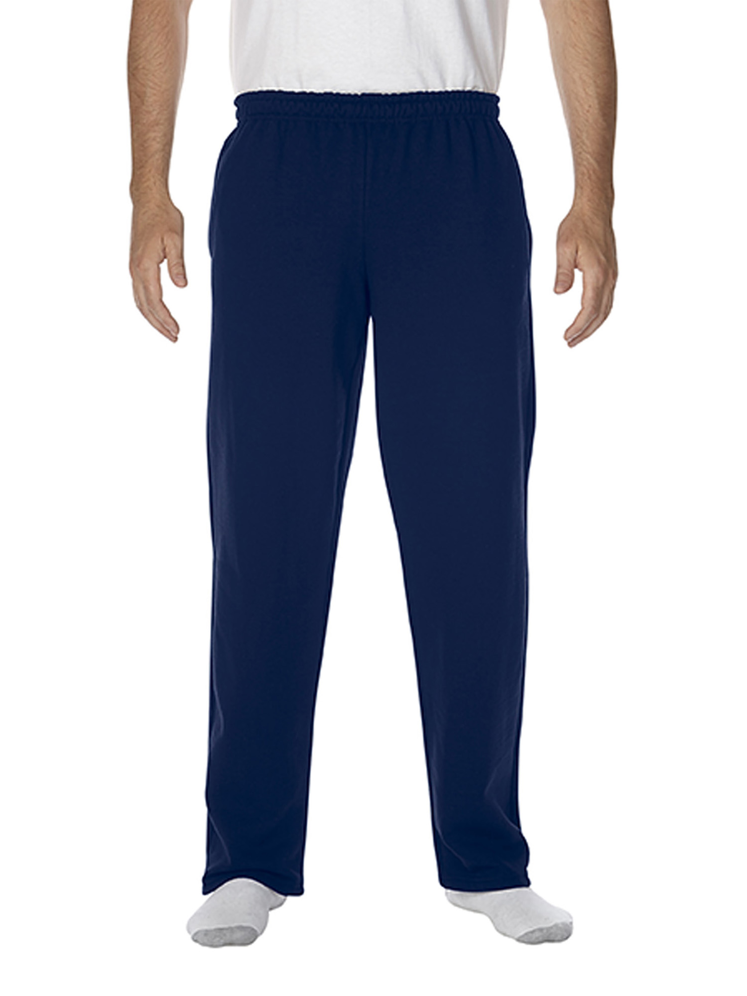 Big Men's Open Bottom Pocketed Sweatpant, 2XL